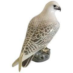 Large Royal Copenhagen Figurine of Falcon No. 2178