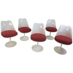 Eero Saarinen Dining Chairs for Knoll International