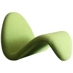 Pierre Paulin Tongue Chair for Artifort in New Maharam Hollingdahl Fabric
