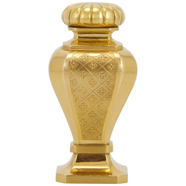 Yellow 18-Karat Gold Seal Made in France