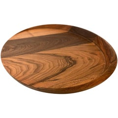 American Dark Solid Walnut Tray by Richard Hudson