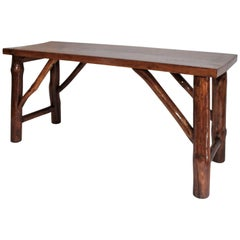 Hickory Bench or Table