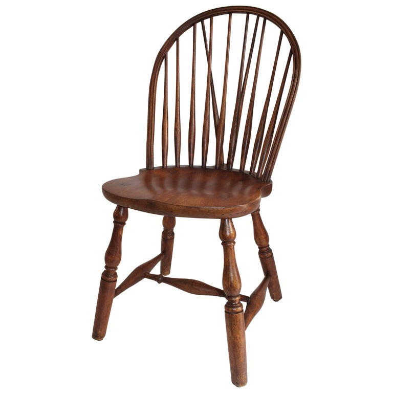 Windsor Chair, Bracback Form For Sale
