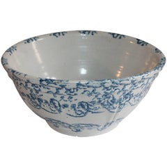 Sponge Ware Mixing or Fruit Bowl