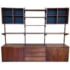 Three Bay Floating Wall Unit by Barzilay