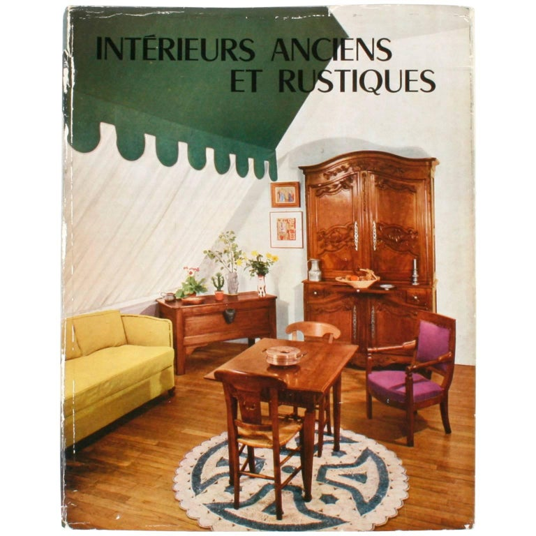 Old and Rustic Interiors by Maurice Andrac