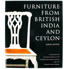 Furniture from British India and Ceylon by Amin Jaffer, First Edition