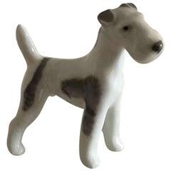 Royal Copenhagen Figurine Wirehaired Terrier #3170