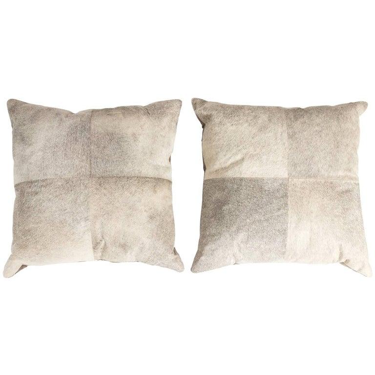 Pair of Pony Throw Pillows