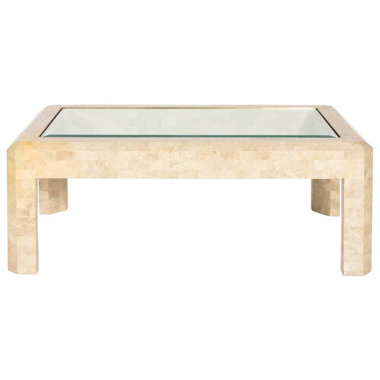 Tessallated Stone Coffee Table by Maitland-Smith