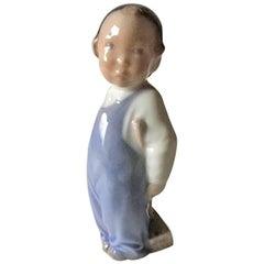 Royal Copenhagen Figurine Boy with Broom #3250
