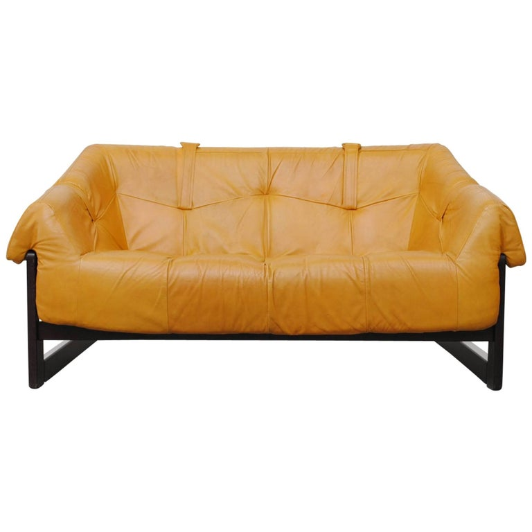 Gorgeous Percival Lafer Loveseat For Sale