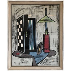 Framed Lithograph by Bernard Buffet
