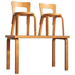 Alvar Aalto Children's Table and Chairs