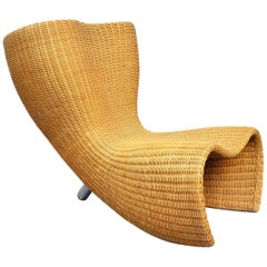 Marc Newson Wicker Felt Chair