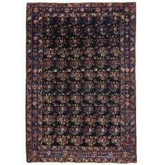 Antique Persian Hamadan Rug, Entry or Foyer Rug
