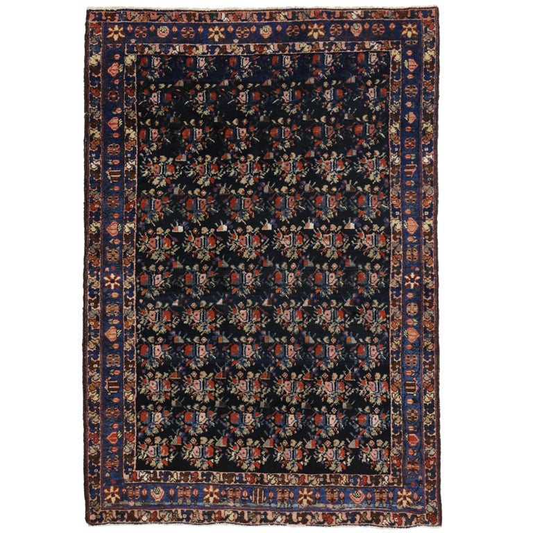 Foyer Rugs Sale : Antique persian hamadan rug entry or foyer for sale