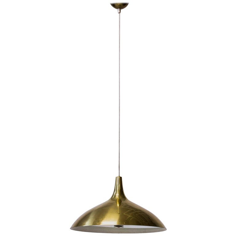 1940s Pendant Lamp by Paavo Tynell, Model J1965, by Taito OY