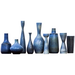 Collection of Vases by Carl Harry Stålhane for Rörstrand, Sweden, 1950s