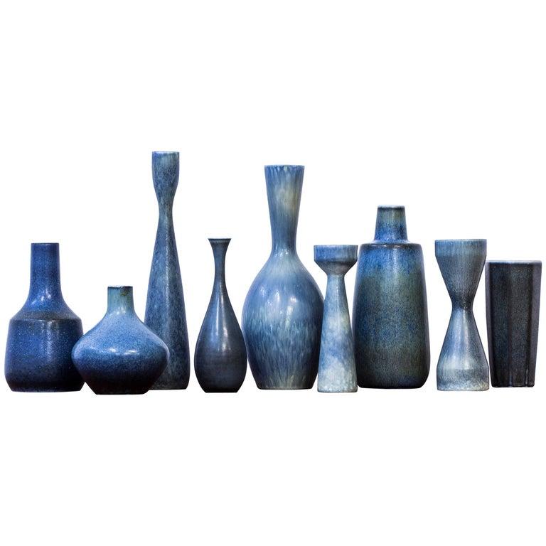 Collection of Vases by Carl Harry Stålhane for Rörstrand, Sweden, 1950s