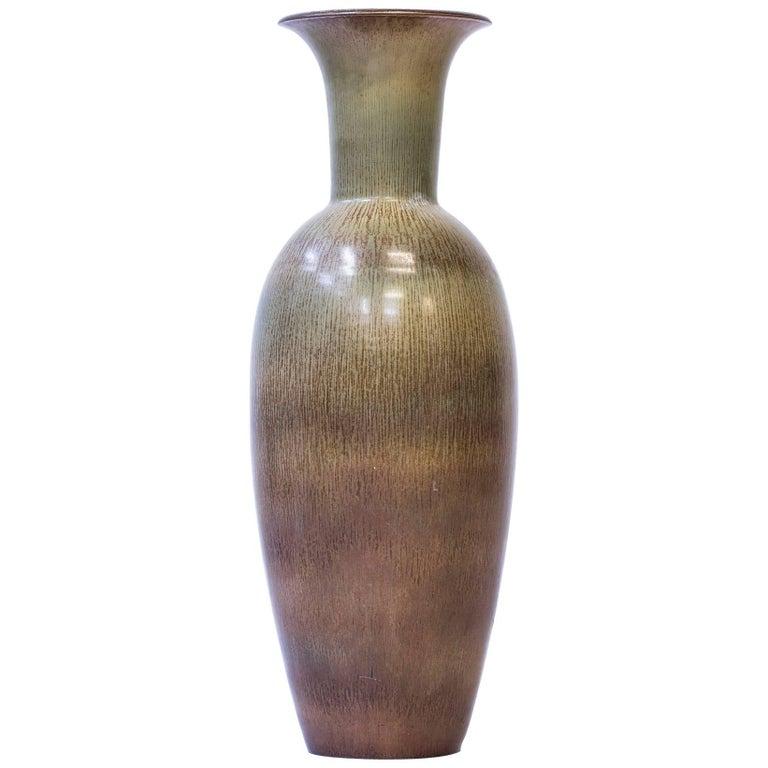 Large Floor Vase by Gunnar Nylund for Rörstrand, Sweden, 1950s