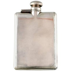 Tiffany & Company Sterling Silver Flask, 925, Hip Flask Tiffany & Co.