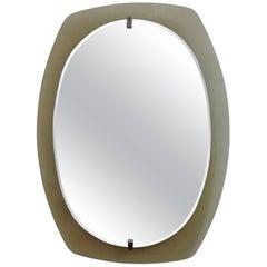 Beveled Mirror from Veca, Italy, 1960s