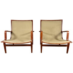 Pair of Bruno Mathsson Ingrid Chairs Made by DUX