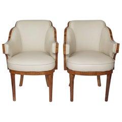 Harry & Lou Epstein Art Deco Armchairs