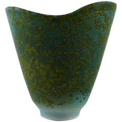 Rörstrand Steingut-Vase von Carl Harry Stålhane