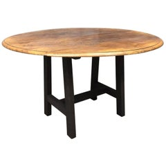 Round Table Elm Top