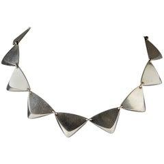Necklace, Designed by Hans Hansen, Denmark, 1950s