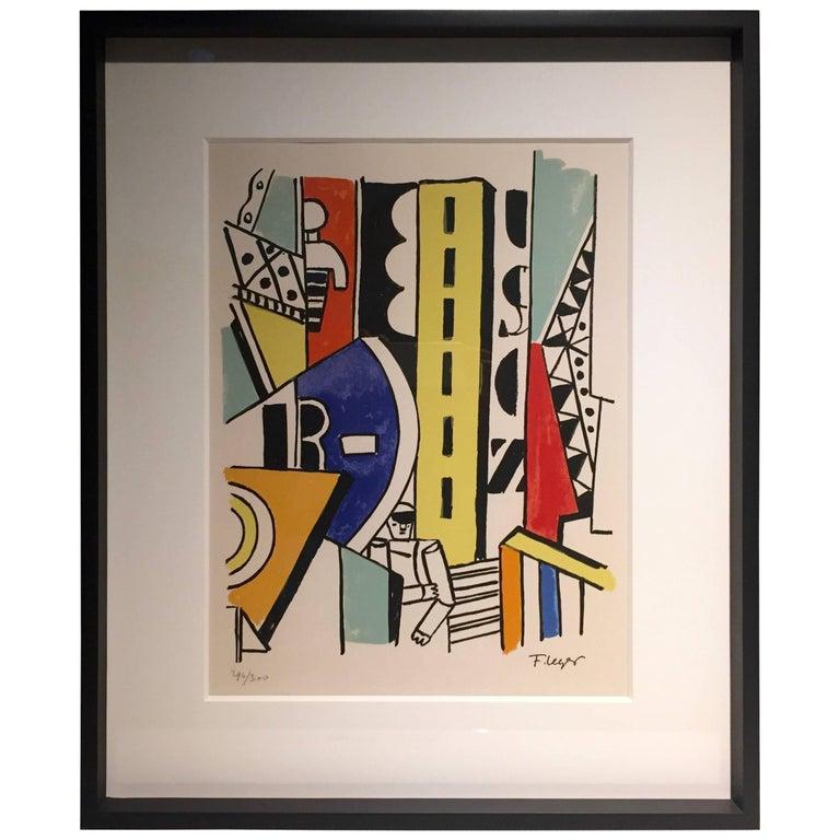 Fernand Léger ''L'Homme dans la Ville'', 1959 For Sale