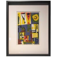 "Pat Vaccaro ""Urban Eclipse"" Silkscreen, 1956"