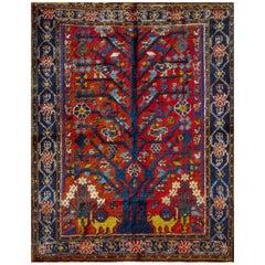 Persian Neyriz Rug