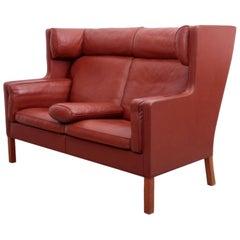 Børge Mogensen Coupe Leather Sofa, 2192, Fredericia, Denmark