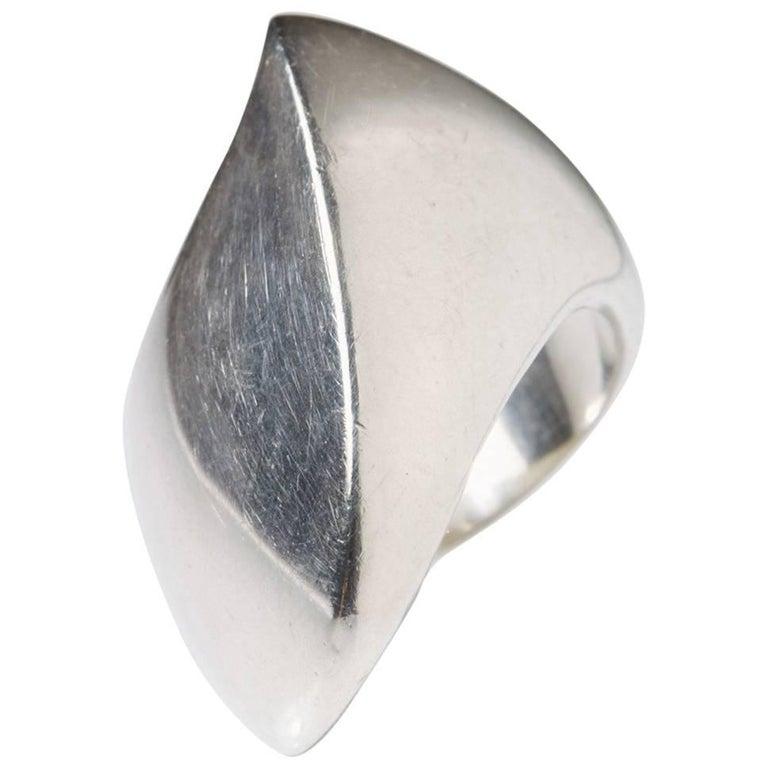 Ring Designed by Nanna Ditzel for Georg Jensen, Denmark, 1960s