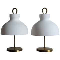 1950s Ignazio Gardella Italian Midcentury Table Lamp Model Arenzano for Azucena