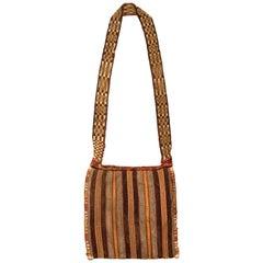 Pre-Columbian Imperial Style Shaman's Coca Leaf Bag, Inca, Peru 1400-1530 AD