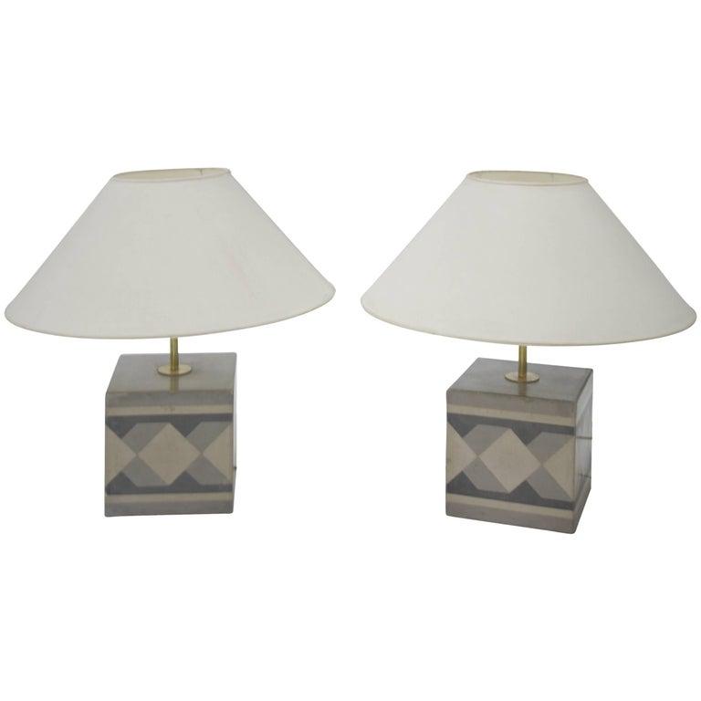 Table Lamps, Italy, circa 20th Century