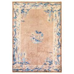 Peking Chinese Carpet, Art Deco Design, c-1920
