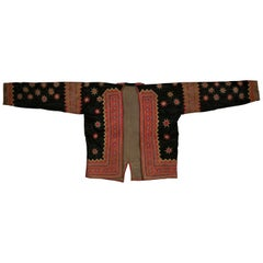 Black Star Jacket from the Hmong People, Laos, Early 20th Century