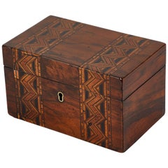 Late 19th Century Inlaid Decorative Box from England.