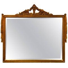 Neoclassical Gilt Framed Wall Mirror