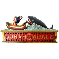 "Mechanical Bank ""Jonah and The Whale"", American, circa 1890"