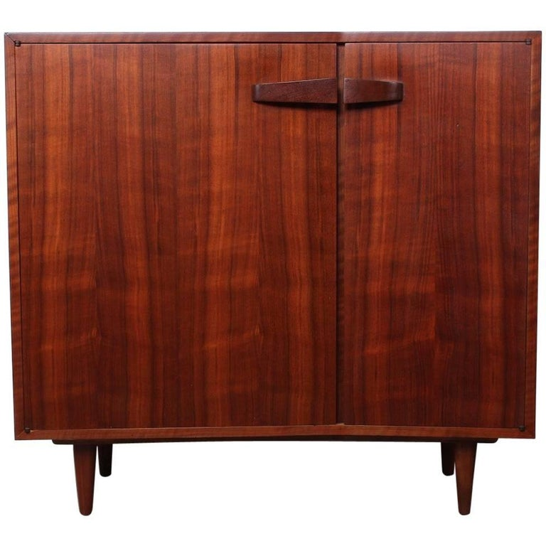 Angular Cabinet by Bertha Schaefer for Singer and Sons For Sale