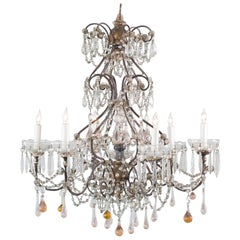 Early 20th Century Delicate Chandelier