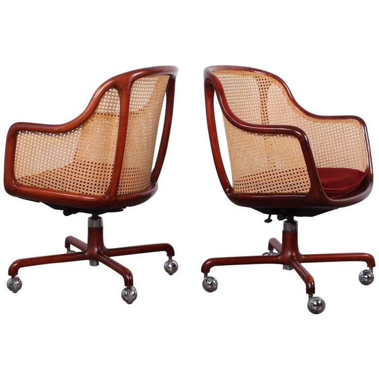 Sculptural Desk Chair by Ward Bennett For Sale