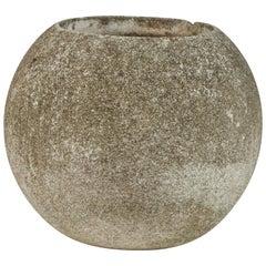Concrete Round Urn