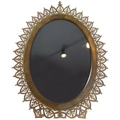 Late 19th Century Tiffany & Co. Brass Oval Picture Frame
